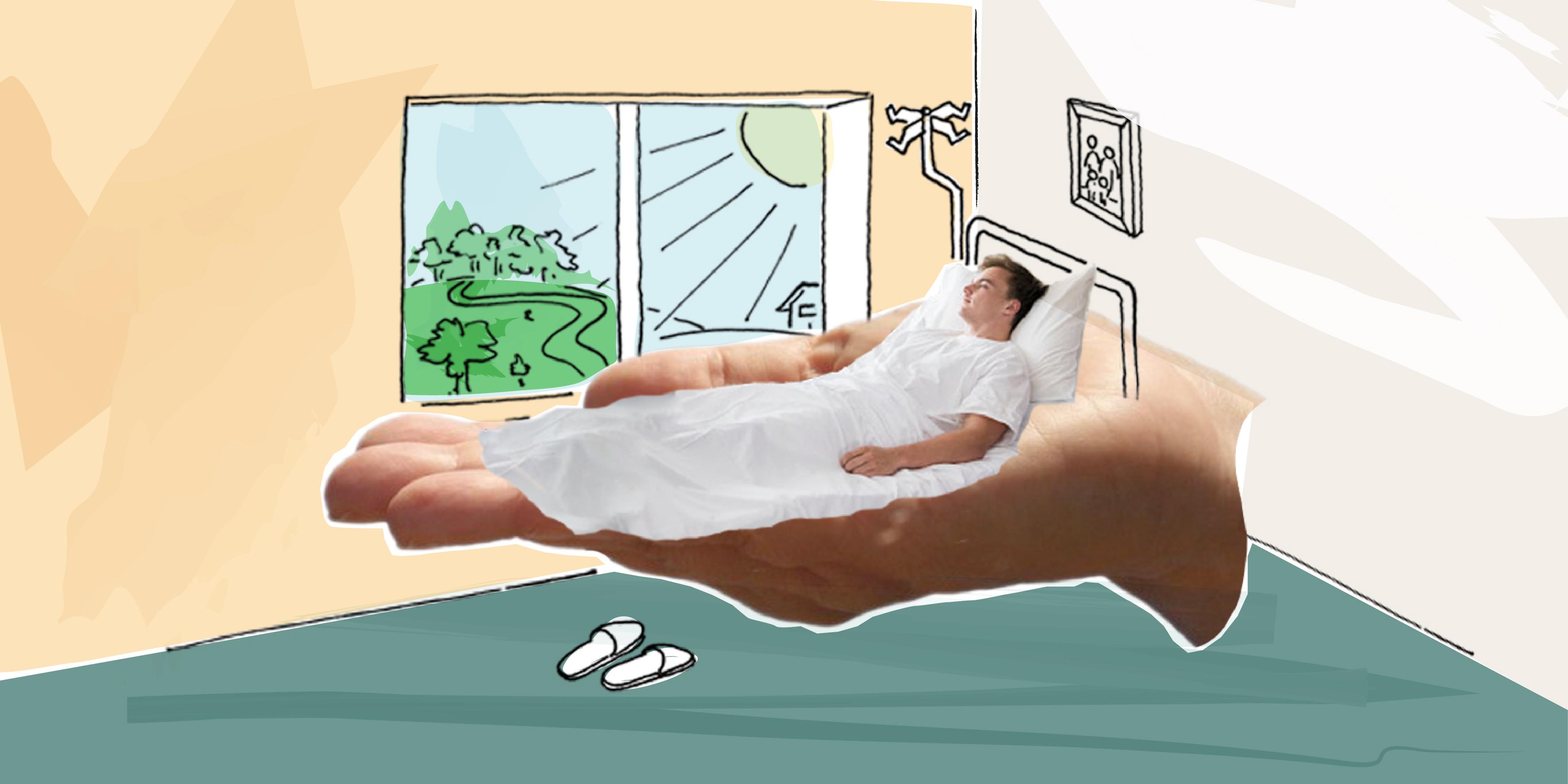 Weiße Decke Endloser Gang Die Besonderen Anforderungen An Die